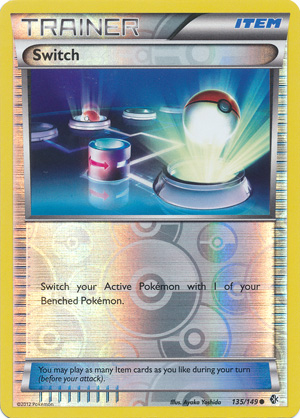 Switch - 135/149 - Common - Reverse Holo