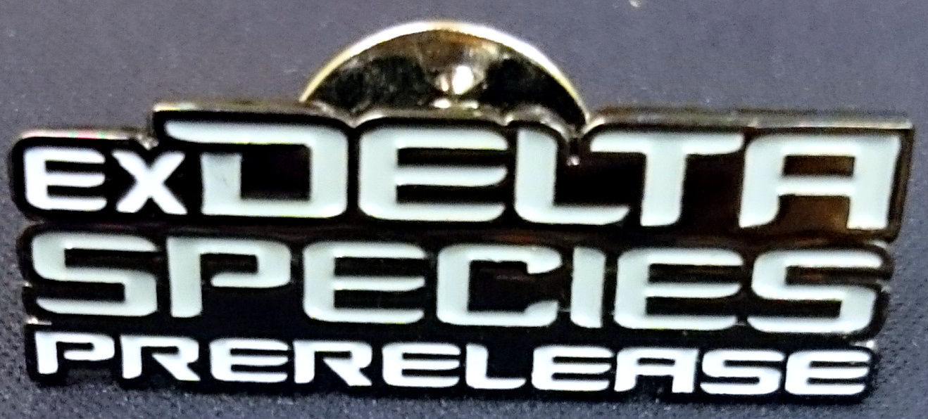 TCG EX Delta Species Prerelease Pin