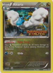 Altaria BW48 Tinsel Holo Promo - Dragons Exalted Prerelease