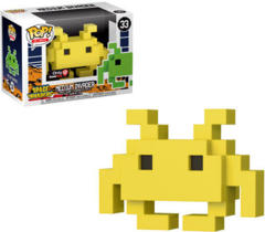 POP! 8-Bit: Space Invaders - Medium Invader (Yellow Gamestop Exclusive) #33