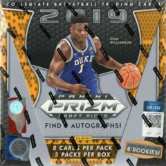 2019-20 Panini Prizm Draft Picks College Basketball