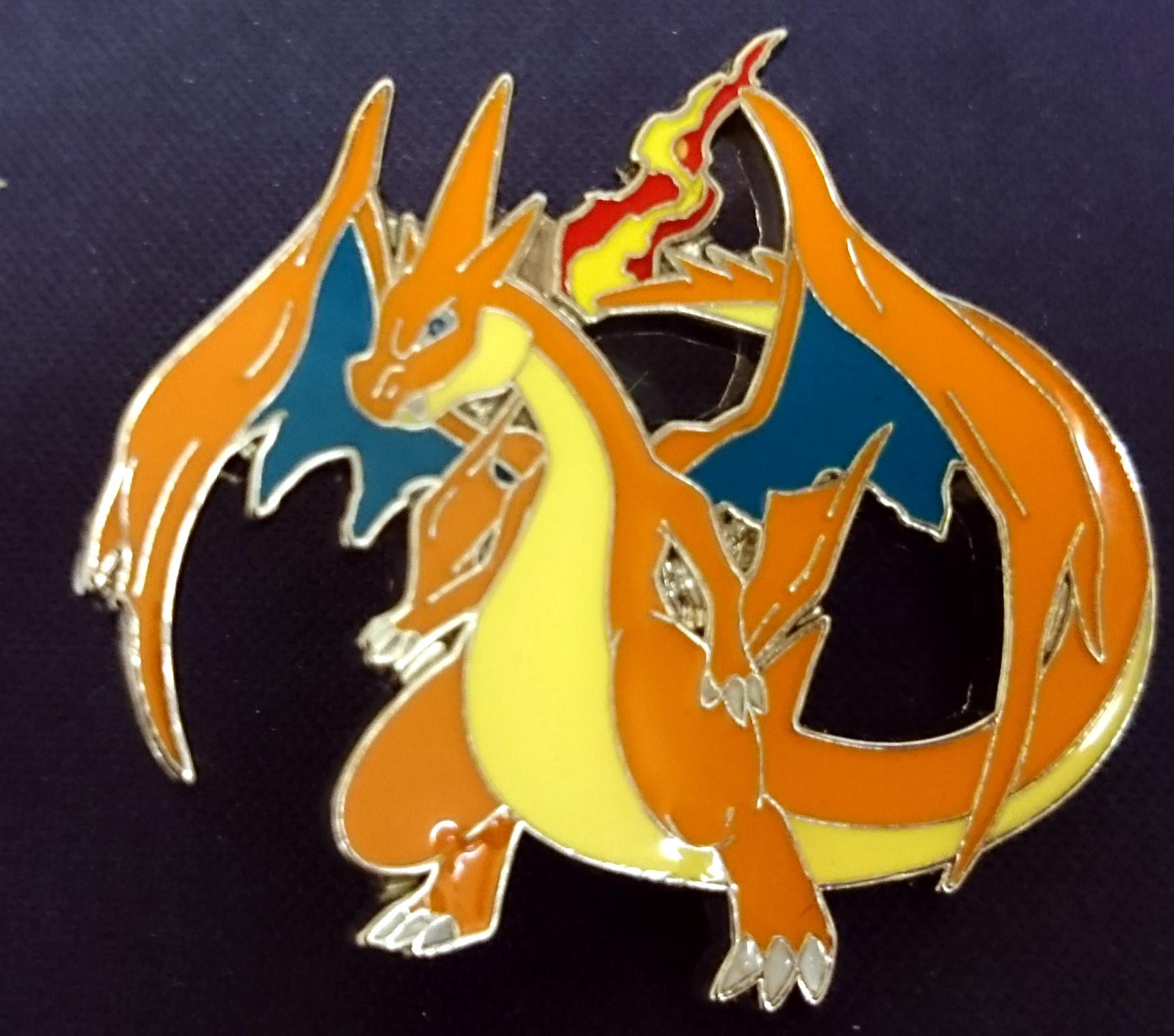 mega charizard y pin blister exclusive pokemon card singles