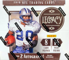 2019 Panini Legacy NFL Football Hobby Box