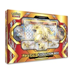 Pokemon Arcanine BREAK Evolution Collection Box