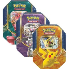 Pokemon Battle Heart Tins: Set of 3