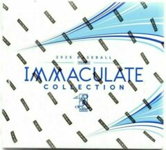 2020 Panini MLB Baseball Immaculate Collection Trading Cards Hobby Box