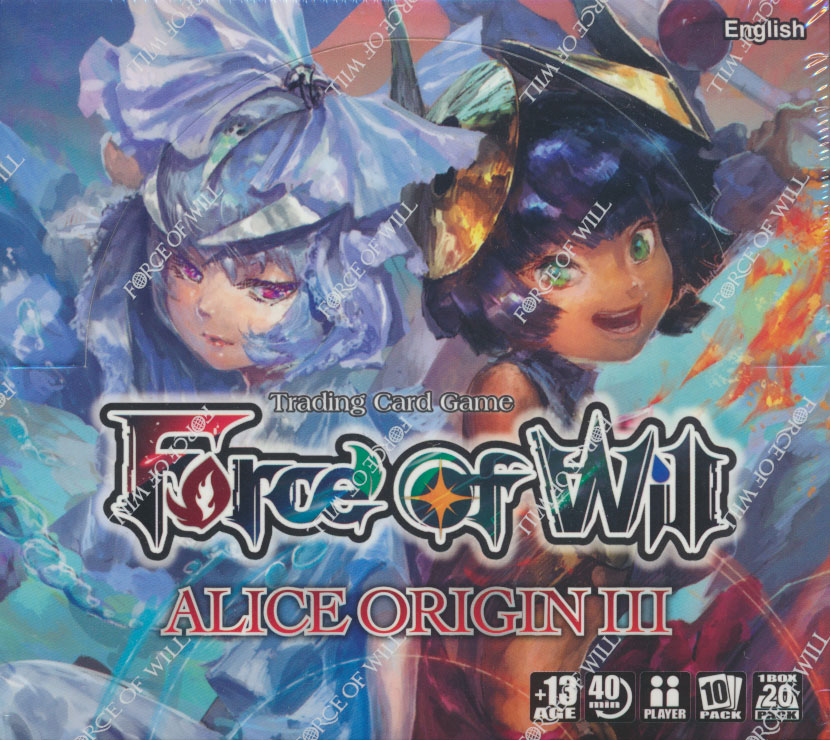 Force of Will AO3: Alice Origins III Booster Box