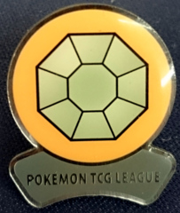 TCG Fire Red Leaf Green League Boulder Badge - Pewter City