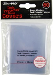 Ultra Pro Standard Size Sleeve Covers - 50ct