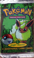 Pokemon Jungle 1st Edition Booster Pack - Flareon Artwork
