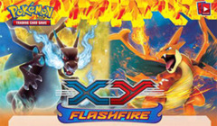 Pokemon XY2 Flashfire Reverse Holo Set