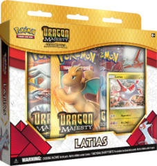 Pokemon Dragon Majesty Latias Pin Collection