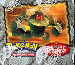 Pokemon EX Hidden Legends Booster Box
