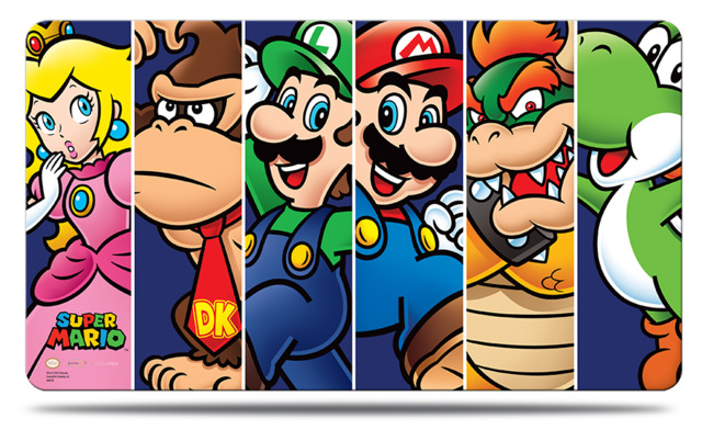 Ultra Pro Super Mario Mario and Friends Playmat