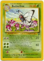 Butterfree 34/130 Uncommon