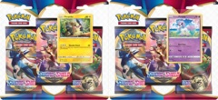 Pokemon Sword & Shield SWSH1 Base Set 3-Pack Blisters - Set of 2