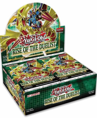 Yu-Gi-Oh Rise of the Duelist 1st Edition Booster Box