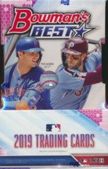 2019 Bowman's Best MLB Baseball Hobby Box