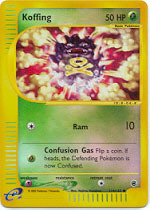 Koffing - 114/165 - Common - Reverse Holo