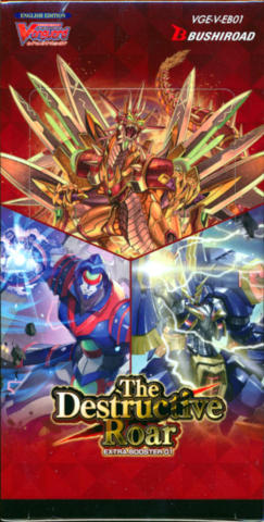 Cardfight!! Vanguard VGE-V-EB01 The Destructive Roar Extra Booster Box