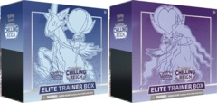 Pokemon SWSH6 Chilling Reign Elite Trainer Boxes - BOTH Versions