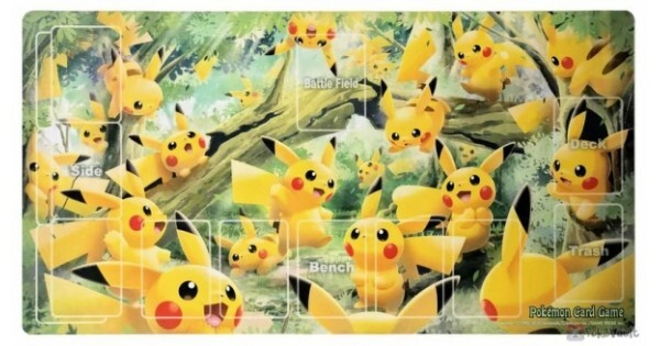Japanese Pokemon Pikachus Forest Playmat