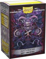 Dragon Shield Brushed Art Standard-Size Sleeves - Saturion Coat-of-Arms 100ct