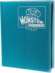 Monster Protectors 4-Pocket Binder - Holo Arctic Blue