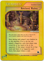 Ancient Ruins - 119/144 - Uncommon - Reverse Holo