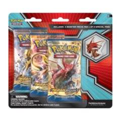 Pokemon XY9 Breakpoint 3-Booster Blister Pack - Mega Gyarados Pin