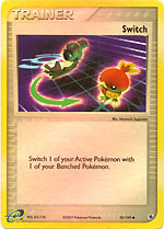 Switch - 92/109 - Common - Reverse Holo