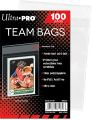 Ultra Pro Team Bags Resealable Sleeves (100ct)