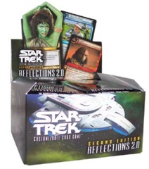 Star Trek CCG Reflections 2.0 Booster Boxes