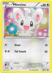 Minccino BW13 Cosmos Holo Promo - Emerging Powers Blister Exclusive
