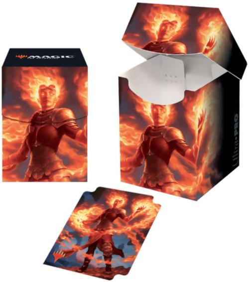 Ultra Pro MTG Core Set 2020 Chandra, Awakened Inferno PRO 100+ Deck Box