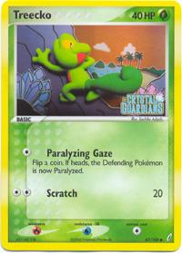 E-Reader Common #76//109 Pokemon Ex Ruby /& Sapphire Treecko