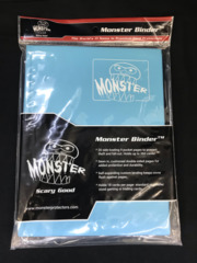 Monster Protectors 9-Pocket Binder - Matte Blue