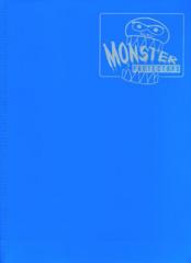 Monster Protectors 9-Pocket Binder - Matte Arctic Blue