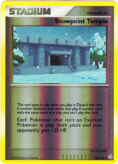 Snowpoint Temple - 134/146 - Uncommon - Reverse Holo