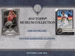 2019 Topps Museum Collection MLB Baseball Hobby Box