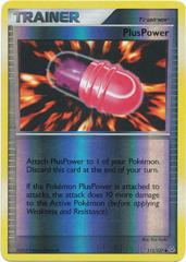 PlusPower - 112/127 - Uncommon - Reverse Holo