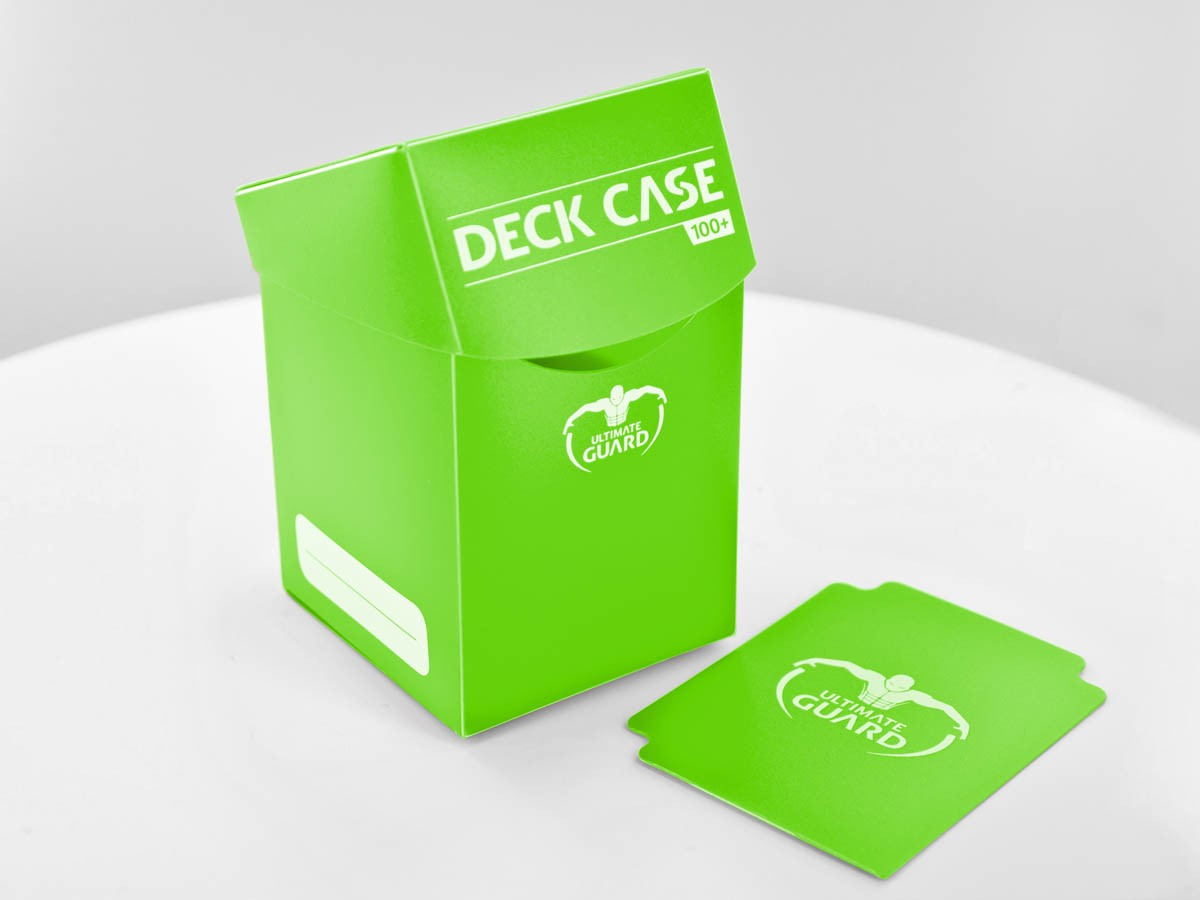Deck Box Light Green Ultimate Guard GAMING SUPPLY BRAND NEW Deck Case 100