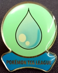 TCG Fire Red Leaf Green League Cascade Badge - Cerulean City