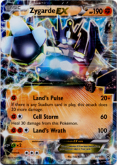 Zygarde EX XY151 Holo Promo - Shiny Kalos Tin Exclusive