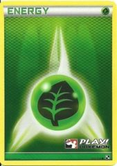 Grass Energy 105/114 Crosshatch Holo Promo - 2011 Play! Pokemon