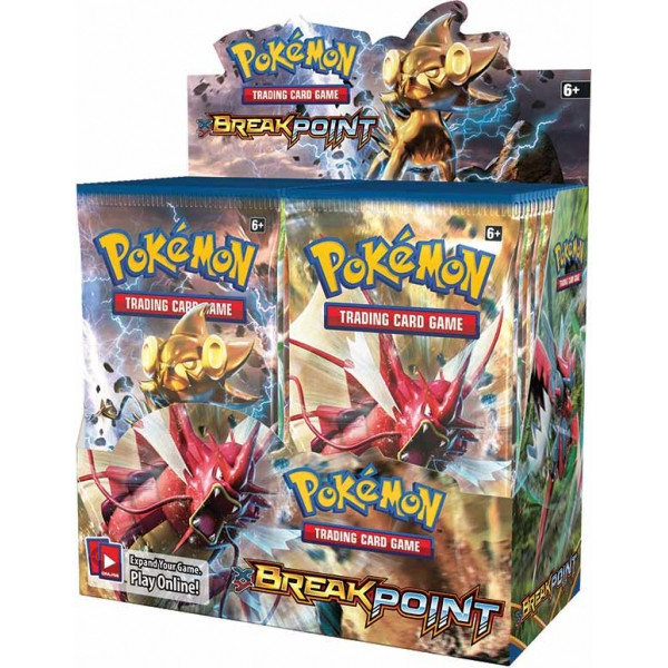 Pokemon XY9 BREAKpoint Booster Box