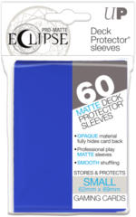 Ultra Pro Small Size PRO-Matte Eclipse Sleeves - Pacific Blue - 60ct