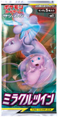 Japanese Pokemon  SM11 Miracle Twin Booster Pack