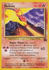 Moltres 21 Non-Holo Promo - The Power of One Theatrical Release