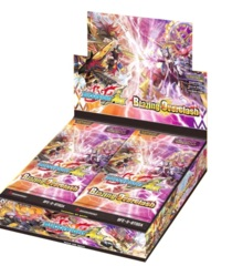 Buddyfight Ace BFE-S-BT02A Blazing Overclash Alternative Booster Box